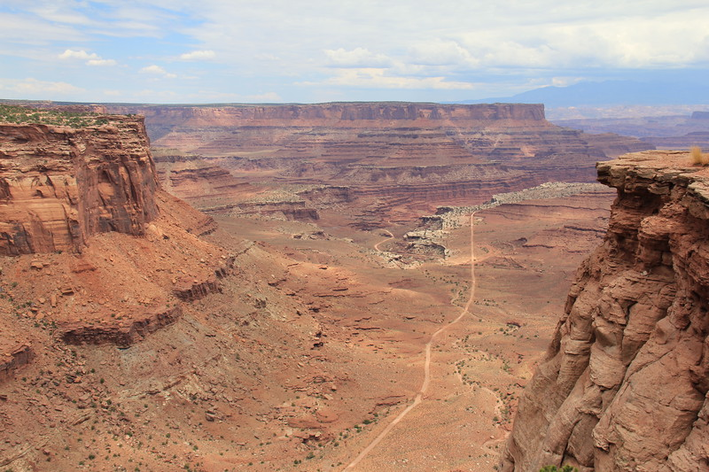 20180715-070 - Canyonlands NP - Shafer Trail from Shafer Canyon Overlook.JPG