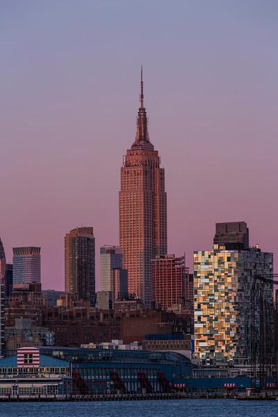 Empire State Building Twilight