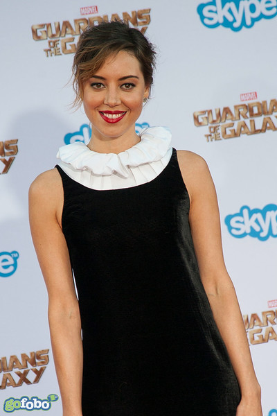 HOLLYWOOD, CA - JULY 21: Actress Aubrey Plaza attends Marvel's 'Guardians Of The Galaxy' Los Angeles Premiere at the Dolby Theatre on Monday July 21, 2014 in Hollywood, California. (Photo by Tom Sorensen/Moovieboy Pictures)