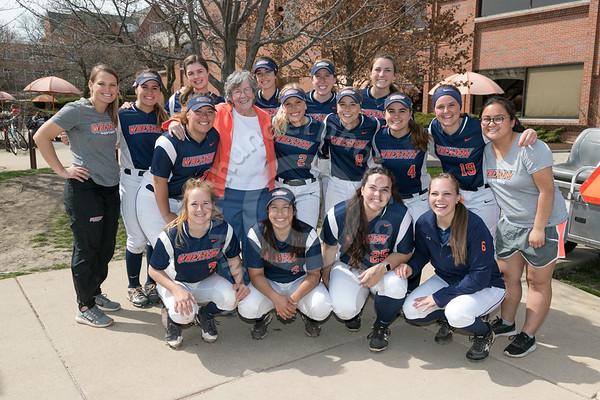 Wheaton College Softball vs University of Chicago, April 26, 2018