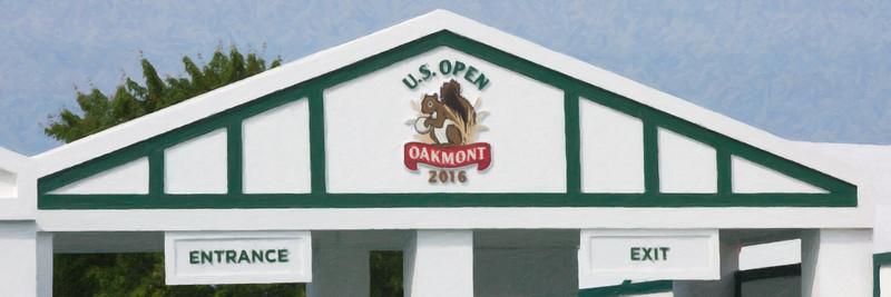 US Open Golf Tornament