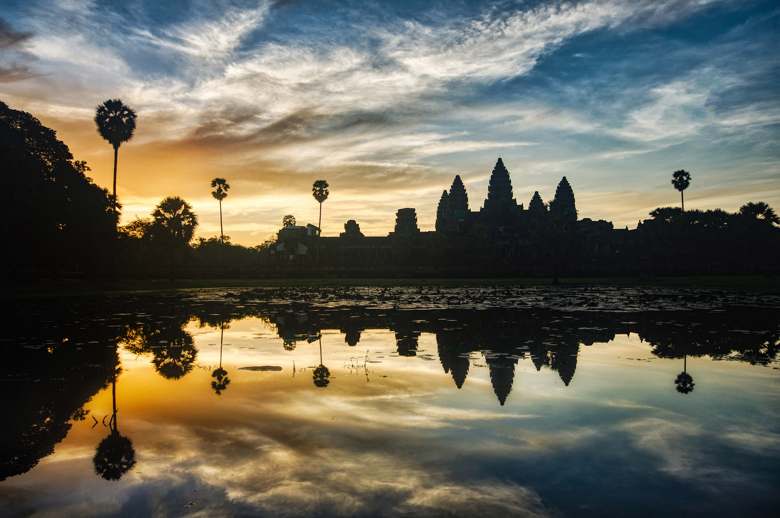 Morning in Angkor Wat