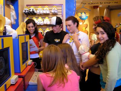 Disneyland and GS singers on break 04