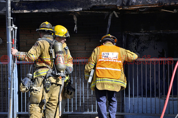 Apartment Fire-Colorado Springs-CSFD