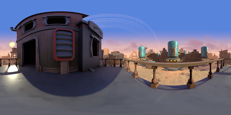 Panoramas - Shaders and Lighting (Daydream)