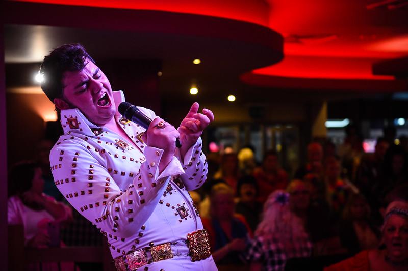 Elvis Festival 2019, Porthcawl, Wales.