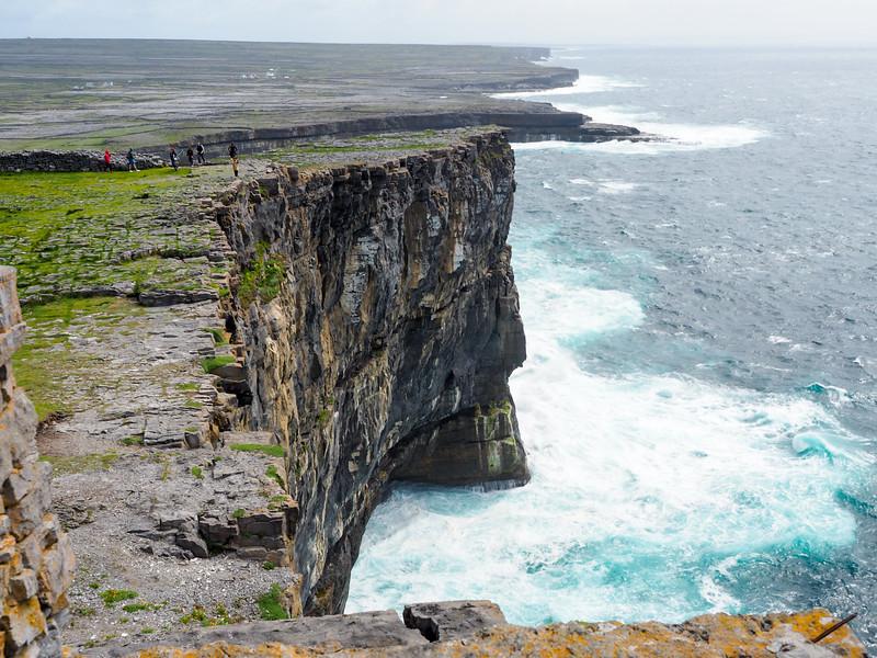 Cliffs at Dún Aonghasa, Ireland