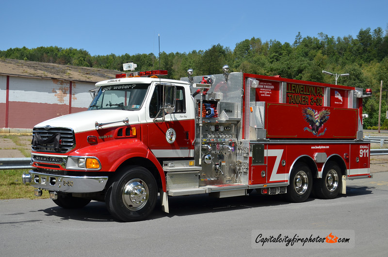 Good Intent Hose Co., Llewellyn (Branch Township) Tanker 3-30: 2004 Sterling/Central States 1250/3000