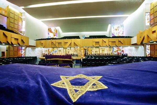 MEXICO, Mexico City. Nidje Israel Ashkenazi, Beth Hakneset Abraham Gerson. (2008)