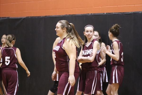 2012 MAMS Girls Basketball at Thorne