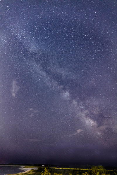 Milky Way over Kalmet beach