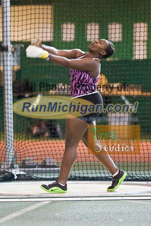 Throws - 2012 USATF Michigan Indoor Track & Field Championships
