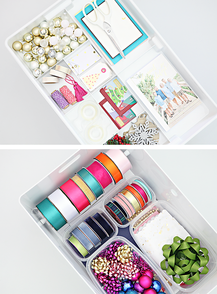 Gift Wrapping Supply Caddy