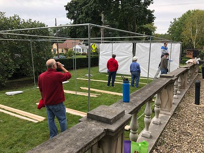 180823 Brotherhood Builds the Sukkah