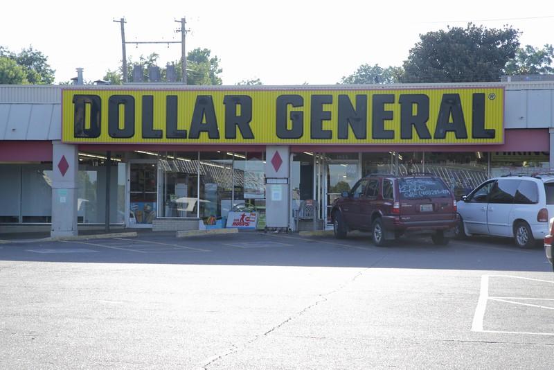 Dollar General at 1603 N Meridian in Oklahoma City, OK.