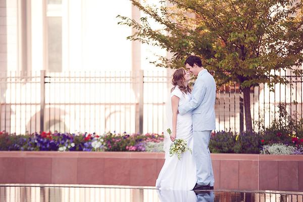 Kelsey and Matthieu Giraud-Carrier Wedding