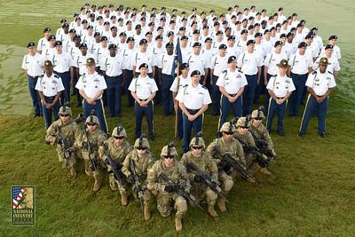 9-8-17 E/2-54, B/2-54, E/1-50 & A/1-50 Graduation Ceremony