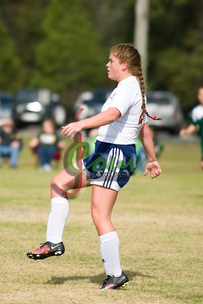 2015 Lady Rebels vs Holy Savior Soccer