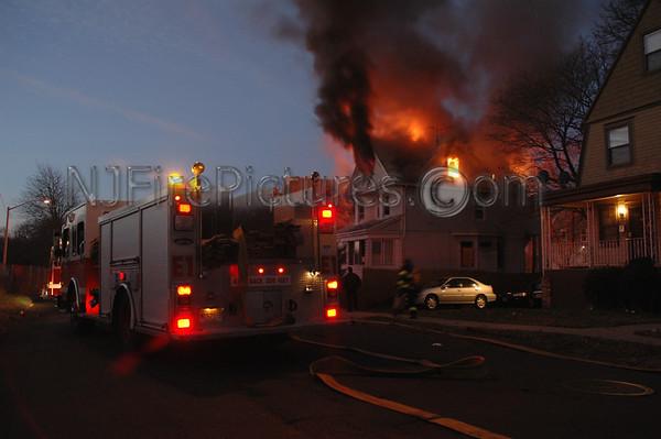 East Orange, NJ 2nd Alarm 35 Willoughby Ave. December 5, 2004