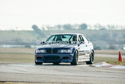 #57 Blue BMW