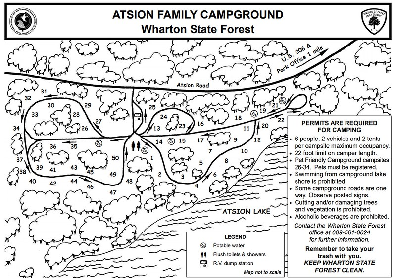 Wharton State Forest (Atsion Family Campground)