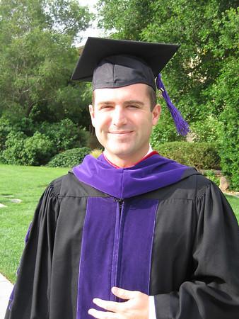 Chad Graduates Law School May 2006