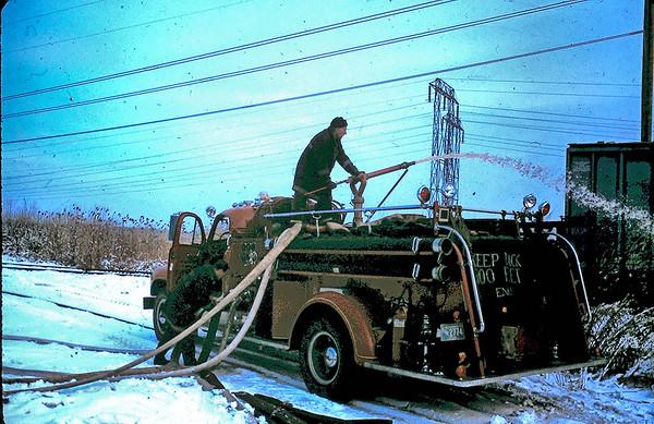 Wakefield Ma box car fire end of Pleasure Island Rd. --1982