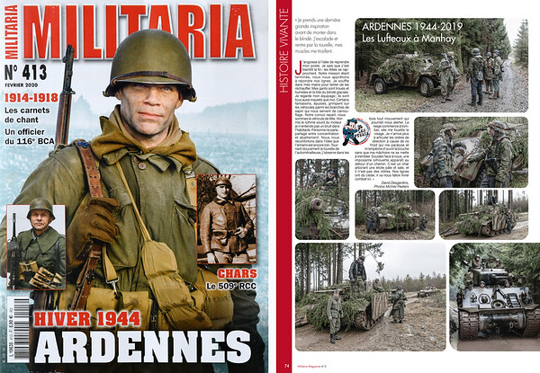 Manhay 2019: 75 years Battle of the Bulge