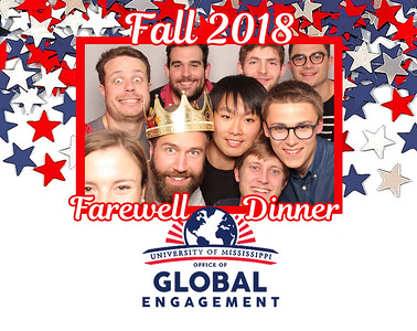 Ole Miss Study Abroad Farewell Dinner 2018