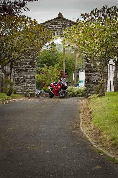 12. Carlow/Kilkenny St Laserian cathedral gates, Old Leighlin - 3K W of Leighlinbridge