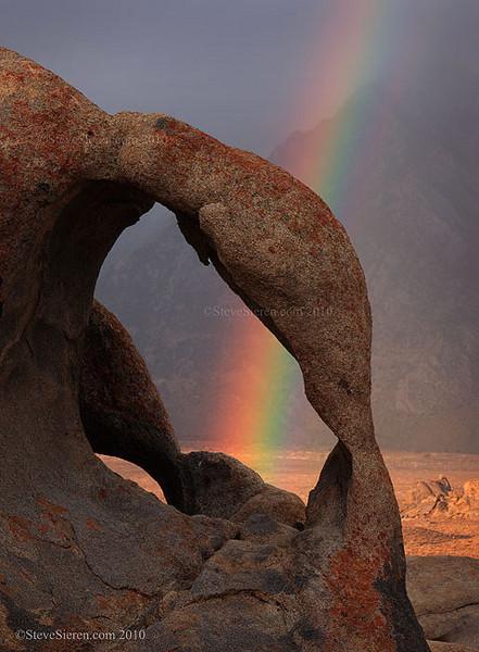 Pot of Gold Arch Alabama Hills, Eastern Sierra Lone Pine, California