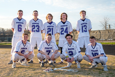 2018 PRHS Men's Lacrosse Seniors