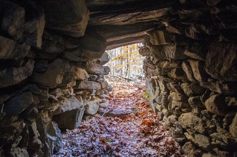 Gungywamp stone chamber
