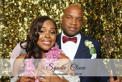 Syndie & Cleeve's Wedding - 9/15/19
