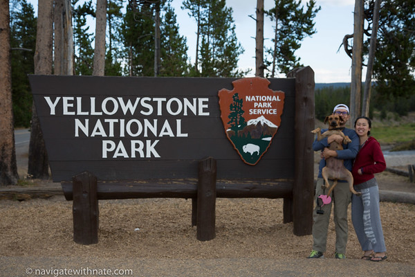 Yellowstone, Day 1