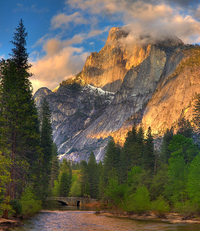 The Grandeur of Half Dome