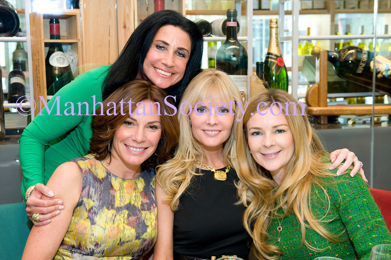 Donna Soloway Hosts St. Patricks Day Luncheon at Le Cirque