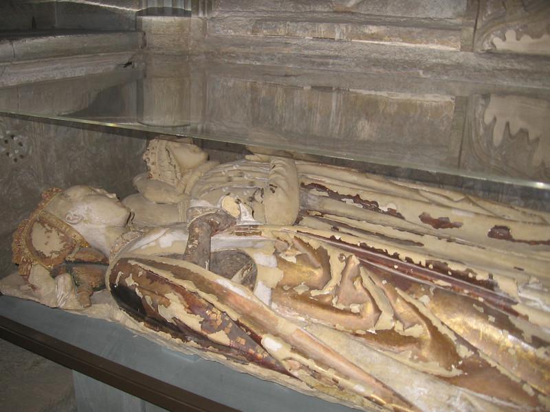 Tomb effigies, Fitzalan Chapel, Arundel