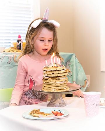 2019 - Anna's 6th Birthday