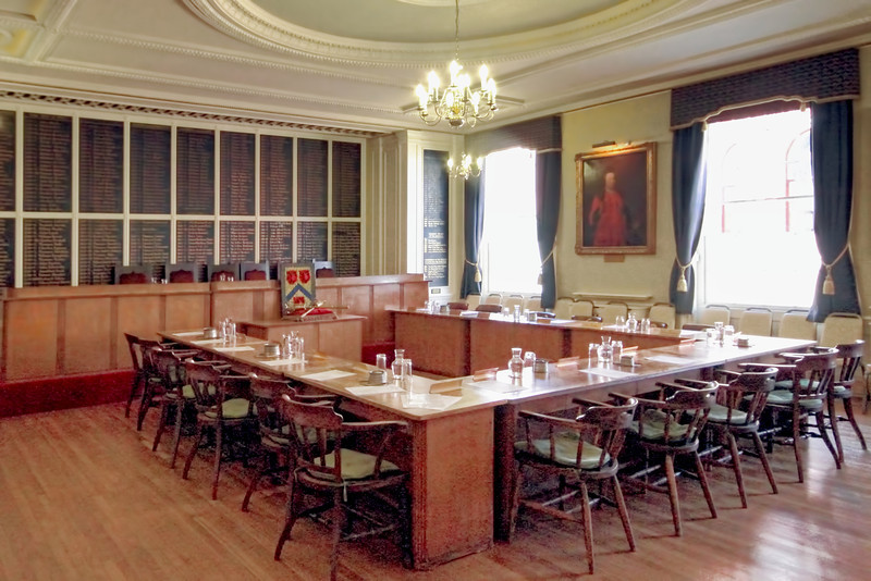 City Council Chambers in Stratford-Upon-Avon