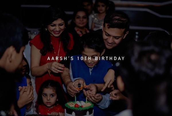 Aarsh 10th Birthday