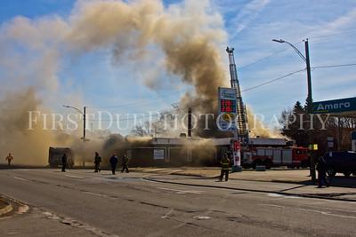 Detroit Box Alarm: E. 8 Mile Rd & Binder St. 29 Mar 2015