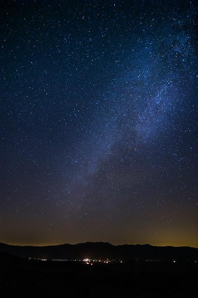 Milky Way over Borrego Springs