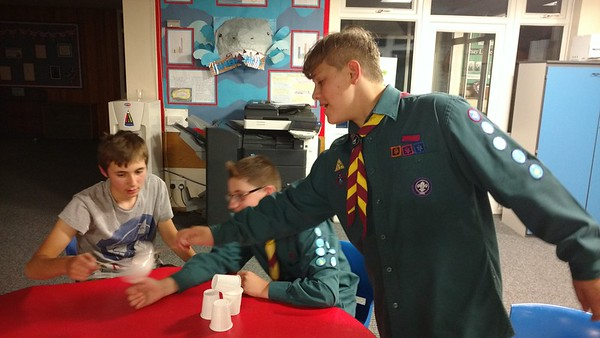 SCOUTS: Troop night - Problem solving