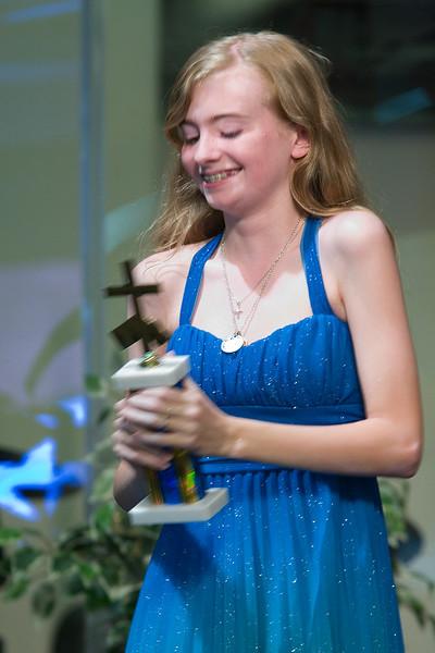 "Merced Christian School 2015 ""Ambassador for Christ Middle School"" - Sarah Matenkosky"