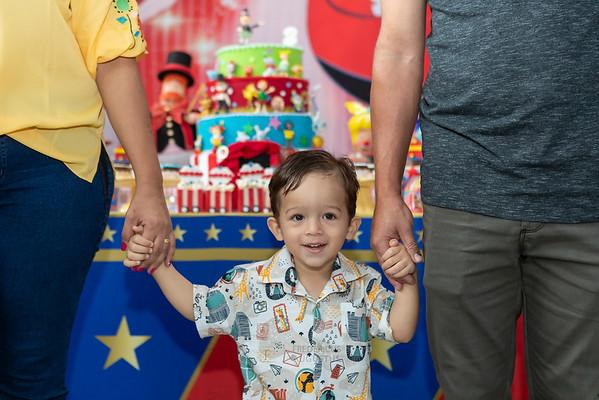 Festa Circo no Espaço Algazarra do Pedro e Fernanda
