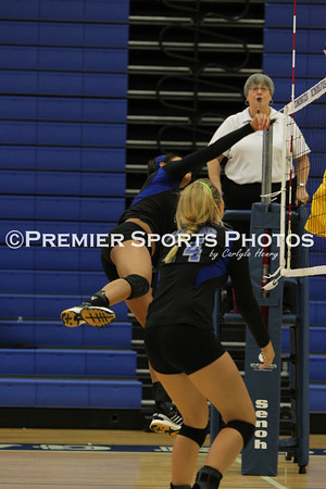 Clear Springs Varsity Volleyball vs Deer Park 9/6/2012