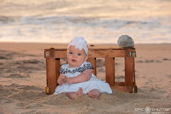 Sunrise Family Portraits, Avon Pier, Hatteras Island, Avon, North Carolina, Epic Shutter Photography, Outer Banks Family Photographer, Family Photos