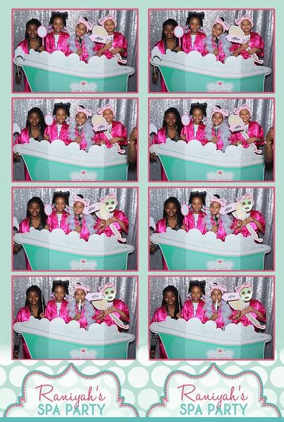 Raniyah's Spa Party (4-9-17)