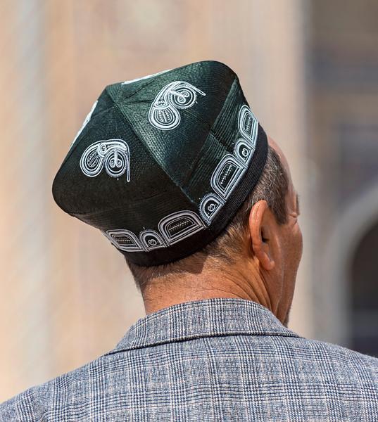 Traditional Uzbek Tubeteika Hat